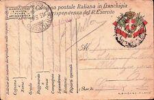 1917 FRANCHIGIA 49° FANTERIA BRIGATA PARMA - GENIO ZAPPATORI - DAL FRONTE C8-308