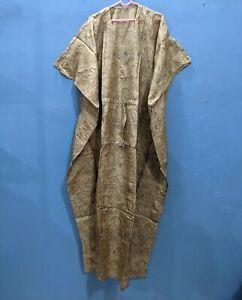 Kaftan Maxi Dress, Loose Dress, Indian Women Pure Silk Kaftan,Silk kaftan # 192