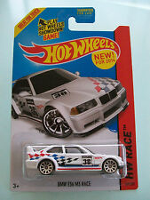 Hot Wheels 2014 HW Race - BMW E36 M3 RACE (White) #169/250 - New In Packet