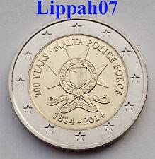 Malta speciale 2 euro 2014 Police Force UNC