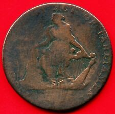 1792 Ireland Half Penny Turner Camac Coin Token