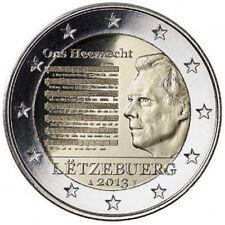 "LUXEMBURG: SPECIALE 2 EURO 2013 UNC:  ""VOLKSLIED"""