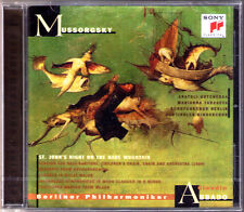 ABBADO: MUSSORGSKY St. John's Night on Bare Mountain CD Intermezzo Symphonique