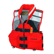 Sterans I426ORG-05-000F Life Jacket Search and Rescue (SAR) Flotation Vest(XL)