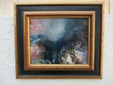 Vasken Azik tableau peinture huile toile aube du jour Vazgain Avanissian Azik
