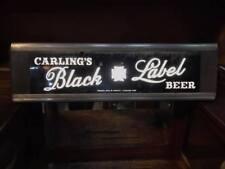Vintage Carling's Black Label Beer Illuminated Sign