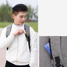 Aelicy Luminous Anti Theft Password Locks Bag USB Charging Backpack_GG