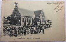 CPA Paris Plage - La Chapelle un jour de marché #c274