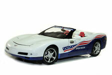 1:18 ERTL Authentics AUTOWORLD 2004 CHEVY CORVETTE INDY OFFICAL PACE CAR