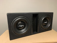 """USED SKAR AUDIO EVL-2X12D4 DUAL 12"""" 5000W LOADED PORTED SUBWOOFER ENCLOSURE"""