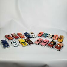 LOT OF 18 VINTAGE HOT WHEELS MATCHBOX YATMING MAJORETTE RARE TOY CARS WITH  CASE