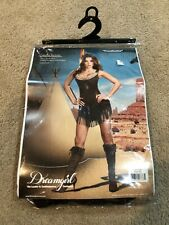 """Dreamgirl """"Pocahottie"""" Pocahontas Womens Dress Up Costume Size Large Halloween"""