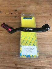 HONDA  CR 80 CR 85 1991-2007  APICO ELITE FORGED GEAR PEDAL LEVER RED TIP