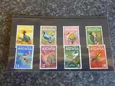 MALAYASIA POSTAGE STAMPS SG20-27 25C-$10 FINE USED