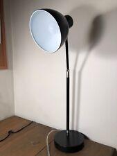 Fully Adjustable Desk Lamp. Black. Excellent!