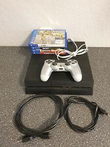 PS4 CHECH 1216 1TB und 4 Spiele