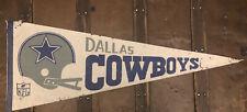 "Dallas Cowboys NFL Pennant - Vintage from circa 1973 - 30"" x 12"""