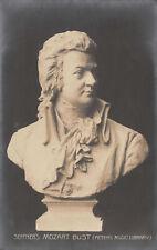 R111169 Seffners Mozart Bust. Breitkopf and Hartel