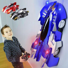 Wall Walking Remote Control Cars Radio Controlled  Light Stunt Racing Home Toy