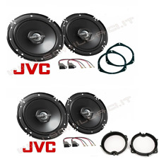 Kit 4 casse  JVC + supporti FIAT GRANDE PUNTO portiere anteriori e posteriori