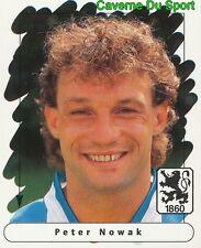 153 PETER NOWAK POLAND TSV.1860 MUNCHEN STICKER FUSSBALL 1996 PANINI