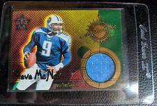 2000 PACIFIC VANGUARD STEVE MCNAIR GAME USED JERSEY CARD TITANS