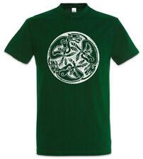 Celtic Dogs T-Shirt Celts Knot Culture Religion Tribal Keltischer Hund Hunde