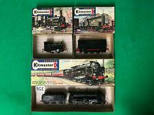 (Rosebud Kitmaster) OO & HO Scale  3 x British locomotives, Kits 2, 5, 6  [BGE]