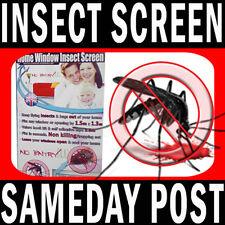 Pantallas de cintas única de mosca NUEVO 2017 Ventana Neto De Insectos Bug Mosquito Negro O Blanco