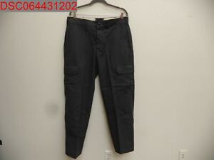 NWOT -Small Stain, Red Kap Mens Industrial Cargo Work Pants, Charcoal 34x30
