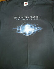 T-SHIRT WITHIN TEMPTATION The Silent Force Tour 2005 xl rare collector
