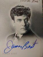 Twilight Zone Series 2 A32 James Best Autograph Card Rittenhouse 2000