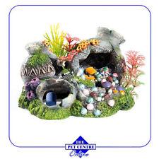 Décorations multicolore pour aquarium, bassin et mare