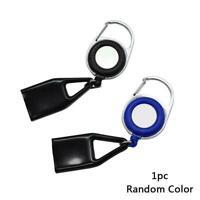 Sticker Lighter Leash Safe Stash Clip Retractable Keychain Holder Lighter C1U7