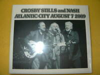 CROSBY STILLS AND NASH ATLANTIC CITY LIVE CD ALBUM ALMOST CUT MY HAIR ROCK POP