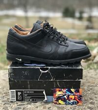 2006 Nike SB Golf Cleat Dunk Low Top Black Rare Vintage Nike 314227-001 Size 9.5
