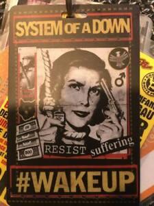 System Of A Down Backstage Pass (Slipknot / Rammstein / Wacken)