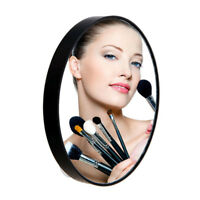 5X 10x 15X Makeup Round Mirror Magnifying With Two Suction Cups Magnification ER