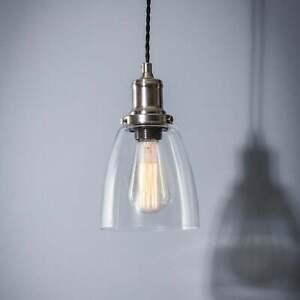 Garden Trading Hoxton Domed Glass Pendant Light