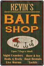 Kevin'S Green Bait Shop Man Cave Wall Decor Gift Metal Sign 112180027026