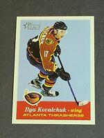 Ilya Kovalchuk Rookie Atlanta Thrashers 2001-02 Topps Heritage #138 RC