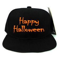 Happy Halloween EMBROIDERED BASEBALL CAP ADJUSTABLE SNAPBACK