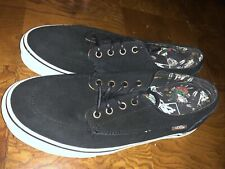 Vans Brigata Desert Tribe Black Suede Mens 8 1/2 Womens 10 Skate Shoes