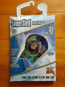 Buzz Lightyear Toy Story 4 Super Sled Nylon Kite 32 Inches Wide Large - New!