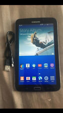 "Samsung Galaxy Tab 3 SM-T217S 7"" 16GB, Wi-Fi + 4G (Sprint) Tablet - Black Locked"
