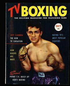 TV Boxing Vol 1 #1 - Oct 1953 fn/vf 7.0 Rocky Marciano Joey Giambra ++