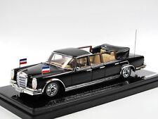 TSM Model 1967 Mercedes-Benz 600 6-Door Pullman Landaulet Josip Broz Tito  1/43