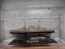 ACORAZADO WARSHIP SMS HELGOLAND 1911-21 1:1250 ATLAS De AGOSTINI #46