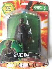 DOCTOR WHO Action Figure Of Rare Dark SCARECROW on  Orange Card Series 3