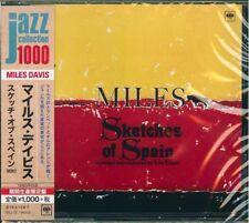 MILES DAVIS-SKETCHES OF SPAIN (MONO)-JAPAN CD Ltd/Ed B63